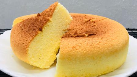 最近用电饭锅做蛋糕又火了,教你懒人详细做法,丝滑绵软入口即化