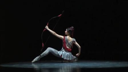芭蕾舞剧《花木兰》,1分48秒弓箭的配音恰到好处,神来之笔!