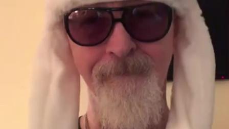 萌化老爷爷!英国重金属乐团JUDAS PRIEST(犹大牧师)的主唱Rob Halford