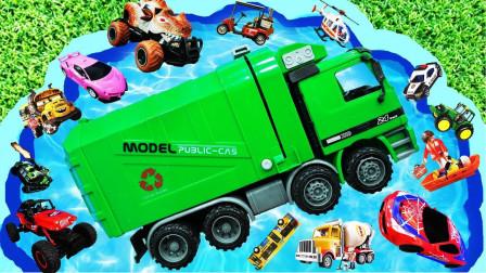 玩具汽车总动员,和小朋友们最喜欢的小汽车们一起学英语