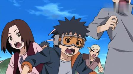 火影忍者:卡卡西表演忍术比赛动真格,赢银质手里剑,带土豪火苗完全没得比