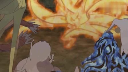 火影忍者:鸣人终于和傲娇九尾心意相通,卡卡西真是万花筒老花眼