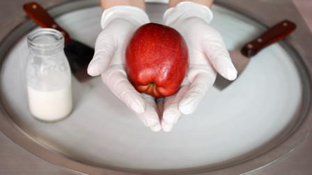 苹果怎样制作冰淇淋卷?怎样用苹果制作美味的冰淇淋卷