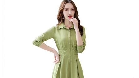 2020春装新款连衣裙