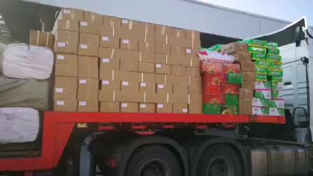 物流专线比快递都快,两个装卸工一早上干两车货