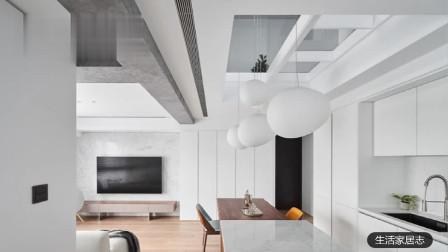 北欧Loft双层公寓|串连一家子的轻暖日常