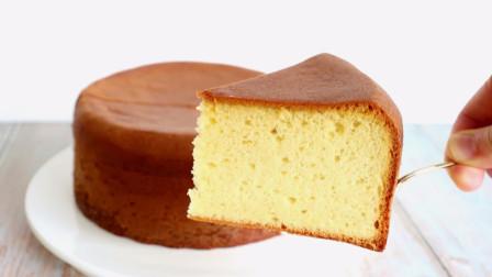家庭版蜂蜜黄油海绵蛋糕制作教程,松软可口,好吃美味!