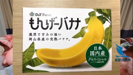什么, 香蕉皮也能吃?日本培育出来的,口味和价格怎样。