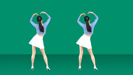 一支网红健身操《青春2020》跟着背面学跳更容易!