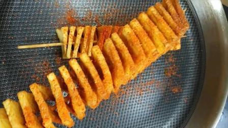 厨师长教你自制炸薯条的做法,鲜香麻辣,酥脆好吃,出锅抢着吃