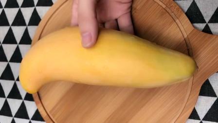 芒果这样做,解渴拔凉,孩子吃不够