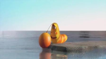爆笑虫子黄虫被风吹到海上还中了蚊子的毒倒霉事都让它遇到