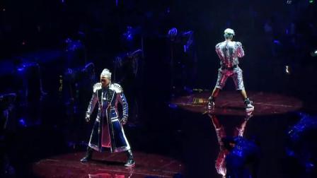 两大天王终极斗舞:郭富城的舞蹈既狂野又魔性:不愧是亚洲舞王