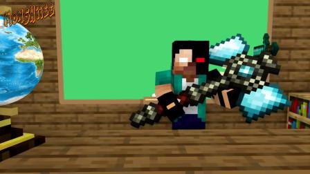 我的世界动画-怪物学院-武器炼制
