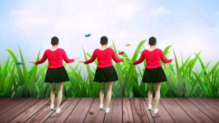 网红歌曲《爱到流泪谁的罪》32步弹跳广场舞