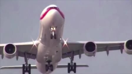 飞机起飞瞬间,跑道差点不够用