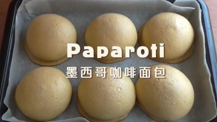【中字】帕帕罗蒂✦手揉墨西哥咖啡面包 | How to make coffee buns recipe(rotiboy paparoti)