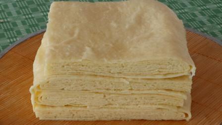 面粉不要再做馒头了,教你在家做发面蒸饼,咸香又美味