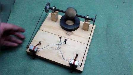 自给自足的发电设备,这老外的脑回路怎么样