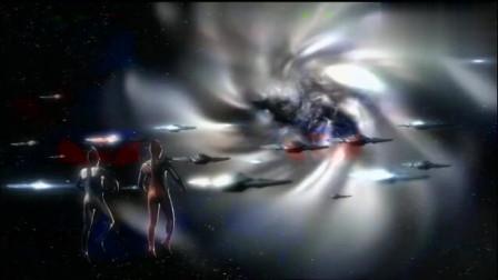 德拉西翁情愿给人类可能,也相信光之战士,以及雷杰多奥特曼