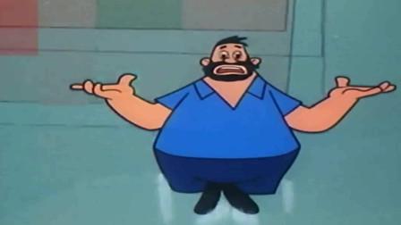 大力水手:大胡子欺负没吃菠菜的水手,菠菜一吃,水手可厉害了