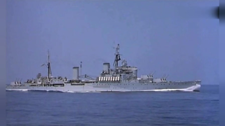二战经典海战电影,英舰队围捕德军战舰,德军舰艇火力凶猛勇猛反击