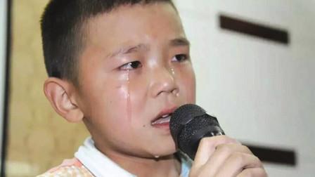 这小男孩太厉害了,一首歌唱的让人心疼,多少父母听的泪流满面