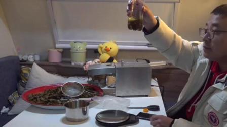 在家榨菜籽油