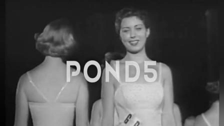 睁眼看世界  1956年美国举行的环球小姐选美大赛
