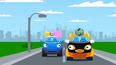 可爱的小警车被大家嘲笑了,这是为什么呢?汽车总动员游戏