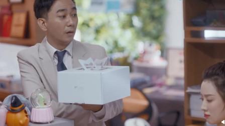 安家:王子健买网红蛋糕哄朱闪闪,朱闪闪生闷气秒被逗笑