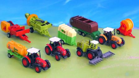 汽车玩具:好有趣!小熊丹丹姐姐带来的这些工程车你见过吗?