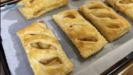 小豆餐厅-做苹果派-小豆成长记录