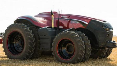 德国农民耗资1200万发明犁地机,坐着不动自动耕地,5分钟一亩地