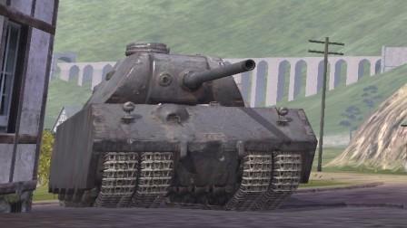 142-德国最后的钢铁巨兽:''鼠''式原型 车——一夜之间跌落神坛的抗线之神,真的废物么?【裟剌神翎的坦克世界闪击战】