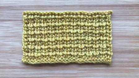 一款精致立体的棒针花样,简单易织,给成人儿童织衣服很不错毛线编织图案