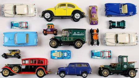 复古汽车老爷车模型展示