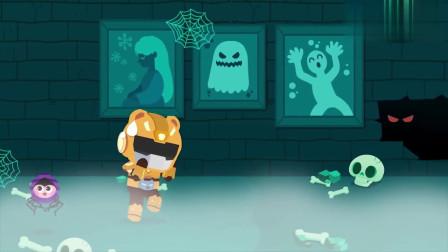 迷你特工队动画剧场:胆小的麦克斯玩密室逃脱还害怕呢