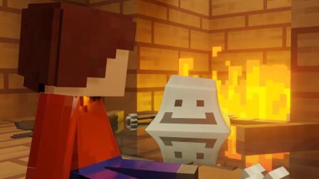 我的世界动画-勇敢的雪人-Travis