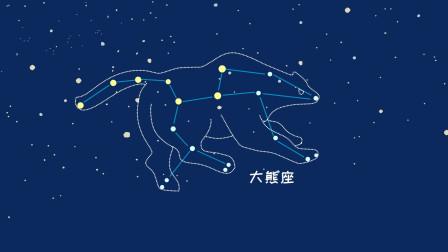 同学们,北斗七星是属于大熊座的一部分,你们知道吗?