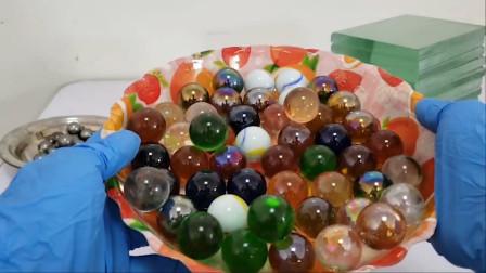 小时候最爱玩的玻璃球,里面的花纹是什么?很多人都不知道