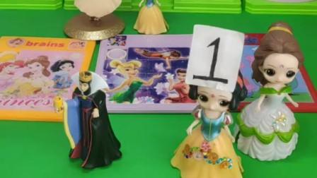 玩具故事:王后和贝尔能找到真正的小白雪吗?