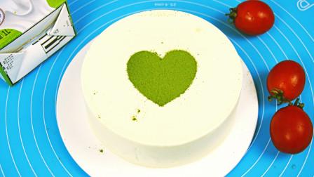 高颜值的酸奶慕斯蛋糕教你在家做,简单易学,好吃还不腻