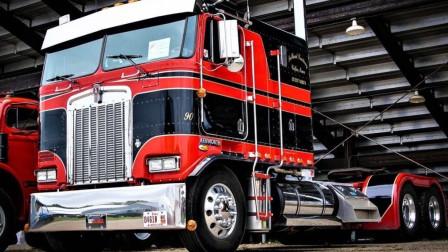 价值350万的纯进口货车,打开引擎盖之后,才知道车子差距有多大