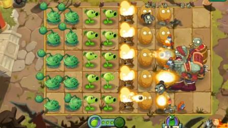 植物大战僵尸2试玩 挑战邪恶入侵简单模式