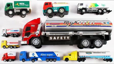 厢式拖车半挂车模型玩具展