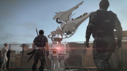 合金装备:队长为保护虫洞挖掘机,大战僵尸群成功完成任务