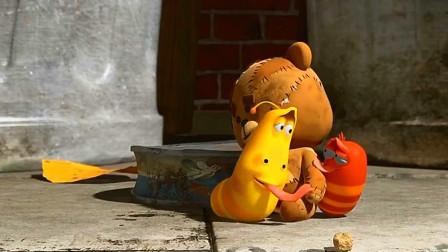 小红为大黄做了一件感动的事,会是什么呢?爆笑虫子游戏