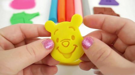 橡皮泥玩具制作小动物图像和手提包