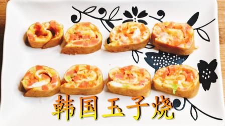 韩剧经典鸡蛋卷饼懒人做法,1个鸡蛋不用面粉不用油,当宝宝早餐有营养